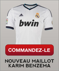 Acheter le maillot de Benzema