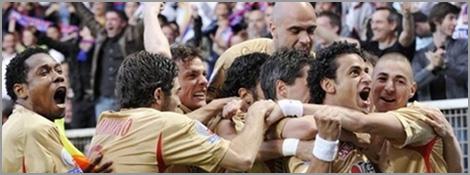 Lyon est Champion de France pour la 7ème fois de suite