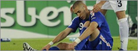 Karim Benzema et Fabio Grosso