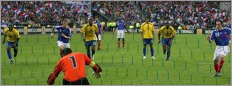 Le penalty transformé par Franck Ribéry face à la Colombie