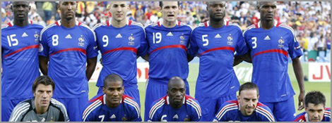L'équipe de France de football