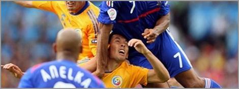 Match nul des Bleus contre la Roumanie