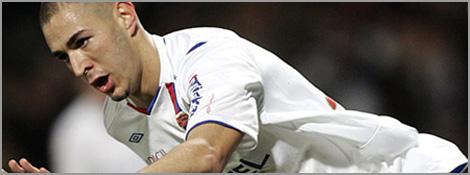 Benzema reste à Lyon