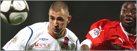 Benzema face à Monaco