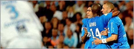 Benzema inscrit un doublé face à l'OM