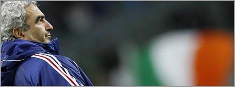 Domenech alignera-t-il Benzema pour le match retour des barrages face à l'Irlande ?