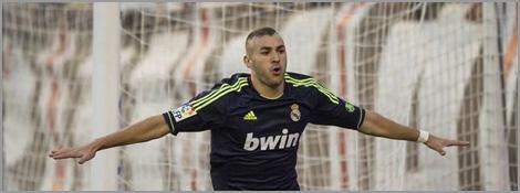 """Premier """"golazo"""" de Benzema cette saison en Liga"""